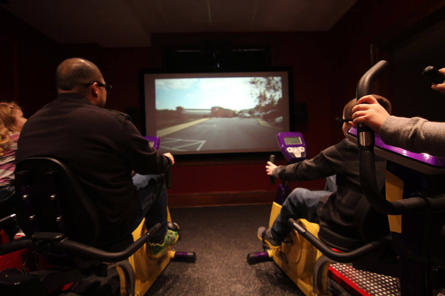 Take a ride back in time with our pedal powered 3D time machine. Image